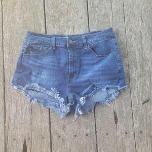 Kancan Raw Edge Shorts